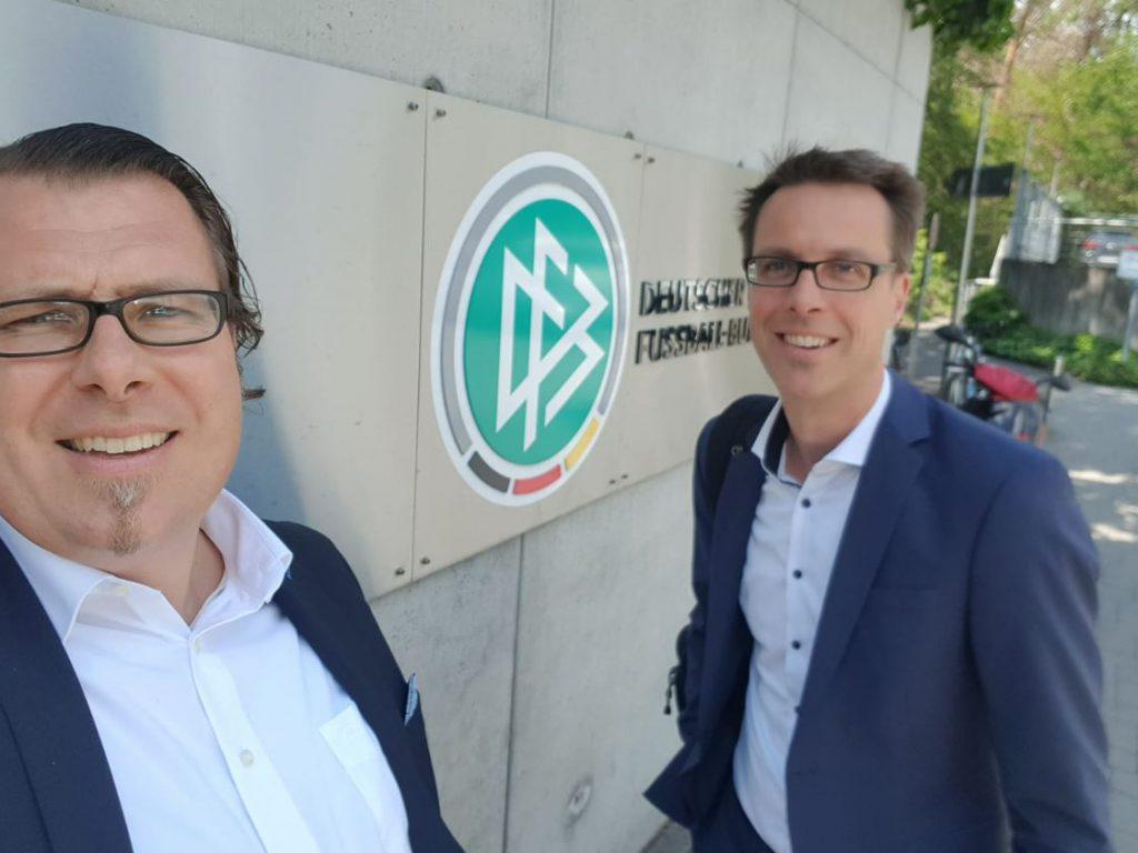 Erfolgreicher Projekt-Abschluss beim DFB