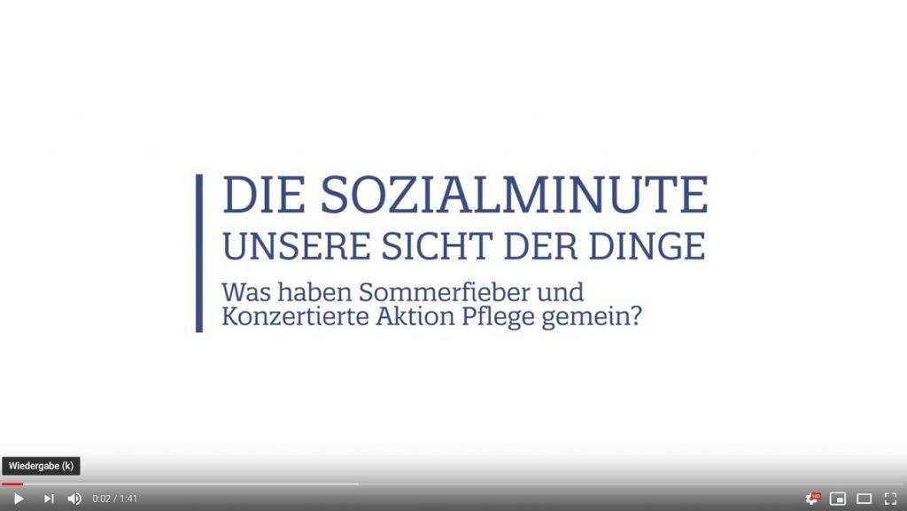 """""""Die Sozialminute – unsere Sicht der Dinge"""""""