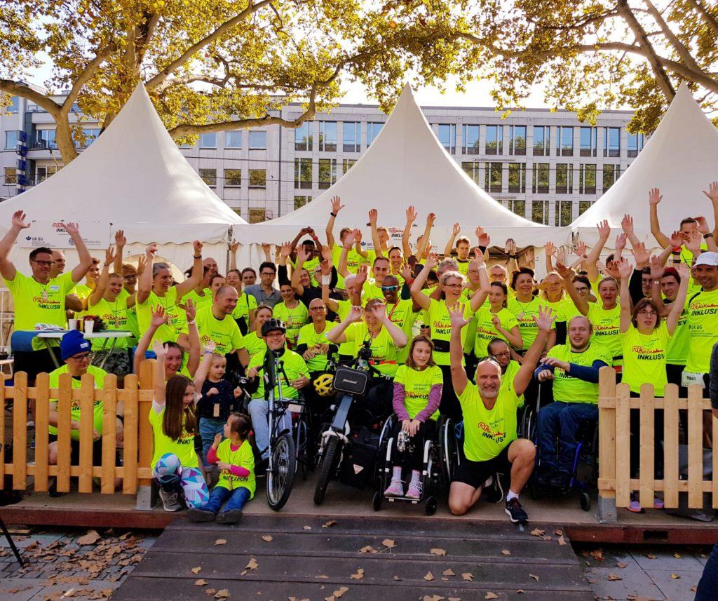 R(h)ein Inklusiv Staffel gewinnt den Generali-Staffelmarathon in Köln