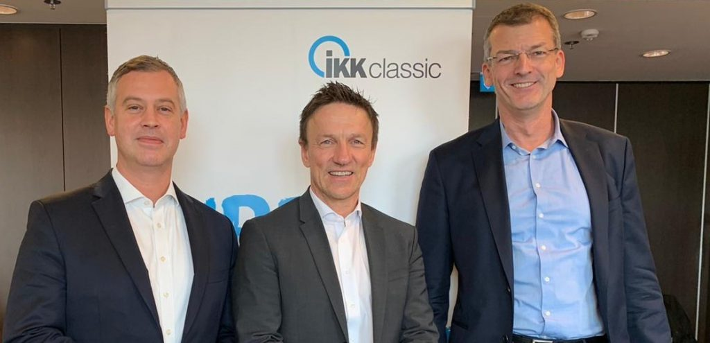 Partner und Geschäftsführer Dr. Michael Rosenbaum von rosenbaum nagy mit Vorstand IKK